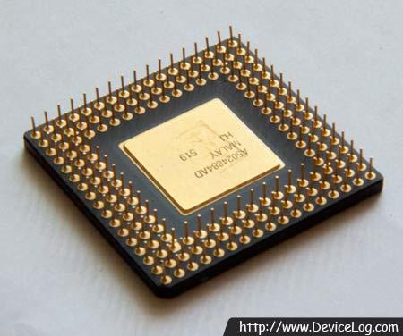 Intel 80486DX4-100 backside (2)