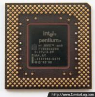 Intel Pentium MMX 200 FV80503200 backside