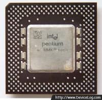 Intel Pentium MMX 200 FV80503200 frontside
