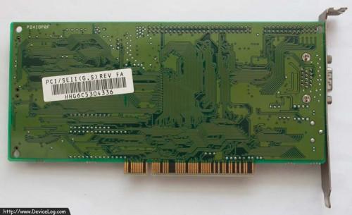가산전자 WInX PCI 24 (뒷면)