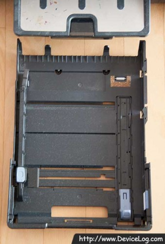 HP K550 basic paper tray