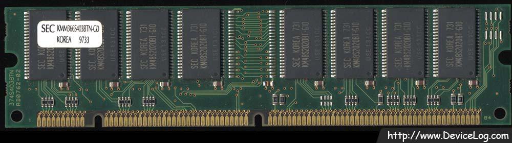 Samsung SDRAM 32MB PC66