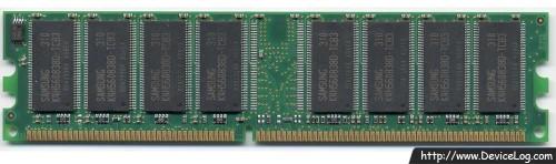 Samsung DDR SDRAM 256MB PC2700 DIMM (M368L6423DTM)