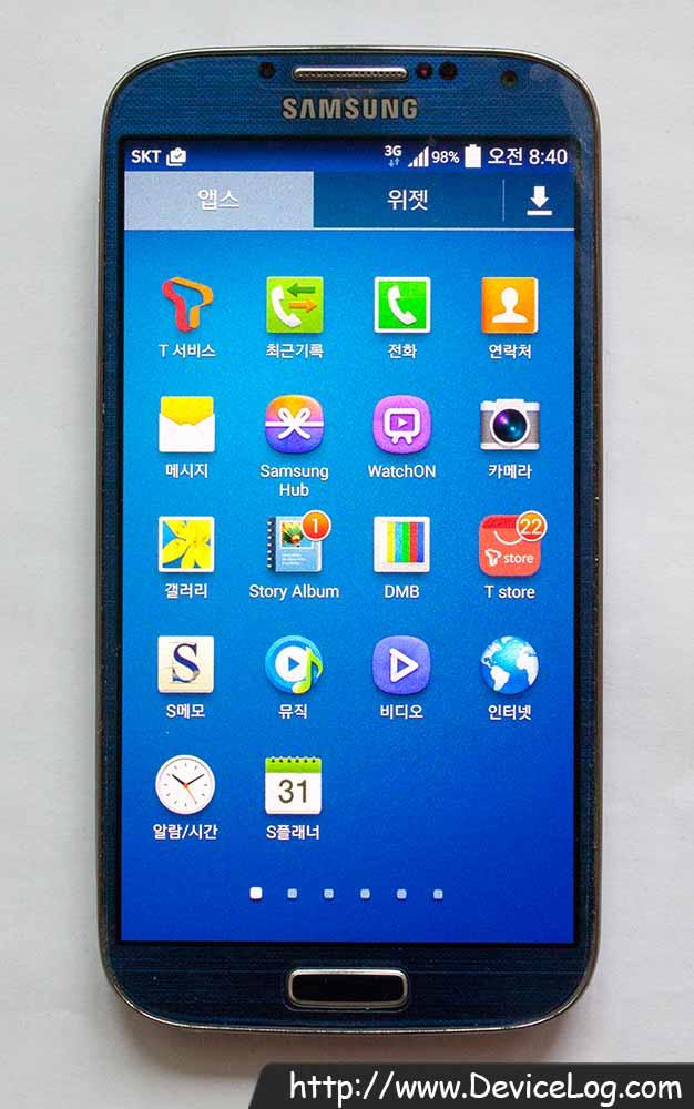 Samsung Galaxy S4 LTE-A (SHV-E330S) :: DeviceLog com
