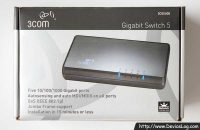 3Com Gigabit Switch 5 Box