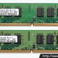 Samsung DDR2 SDRAM 2GB 2Rx8 PC2-6400 (M378T5663QZ3-CF7)