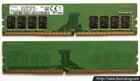 SAMSUNG DDR4 SDRAM 8GB DIMM (1Rx8_PC4-21300, PC4-2666V-UA2-11, 1828)
